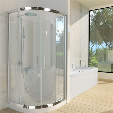 Curved Shower Screen Handle by Dome Suite Curved Sliding Shower Screen 900