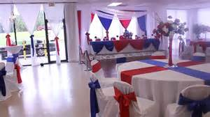 Army Themed Decorations - military retirement red white and blue theme at the all events hall youtube