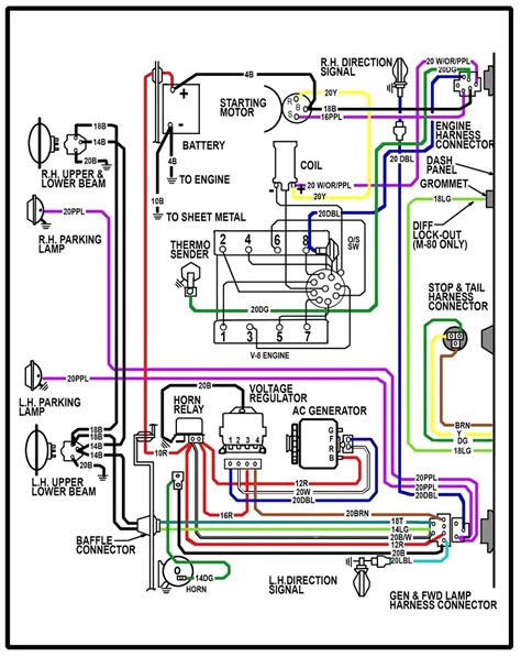 chevy 350 engine ignition wiring diagram chevy 350 clutch