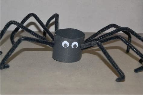 How To Make A Paper Spider - 60 animal themed toilet paper roll crafts hative
