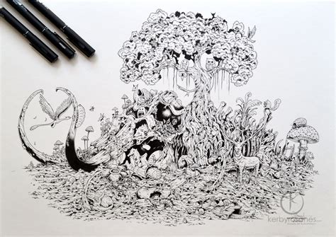 kerby rosanes sketchbook freelance illustrator sketchbook lover works