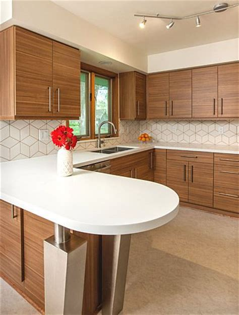 Kitchen Backsplash Mid Century Modern Best 25 Mid Century Modern Kitchen Ideas On