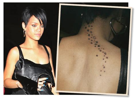 rihanna back tattoo neck tattoos and designs page 28