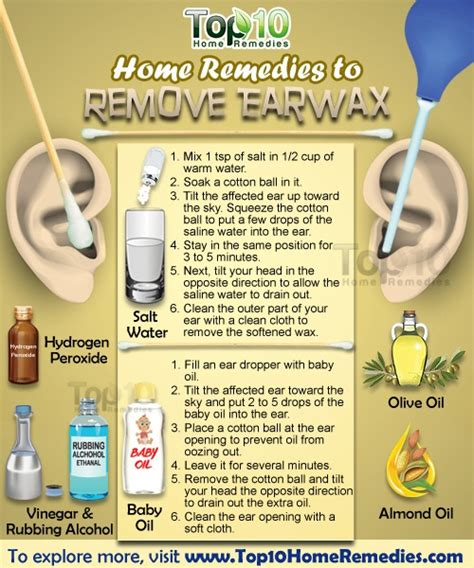 home remedies to remove earwax top 10 home remedies