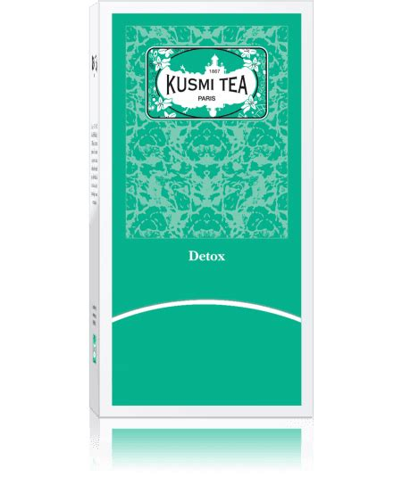 Kusmi Detox Tea Ingredients by Detox Kusmi Tea