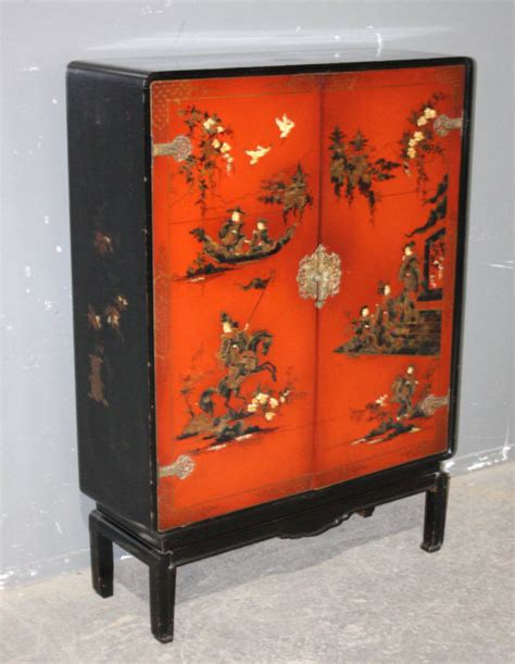 Painted Bar Cabinet Chinoiserie Themed Painted Bar Cabinet J6433 For Sale Antiques Classifieds