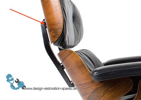 eames lounge chair back support spacer large - Back Support Lounge Chair