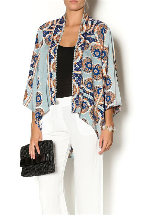Embroidered Kimono Jacket 2 embroidered kimono jacket from by southern