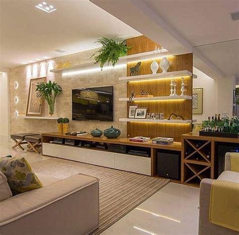decorar sala tv pequeña decoracion tv free decorar la pared tv con piedras with