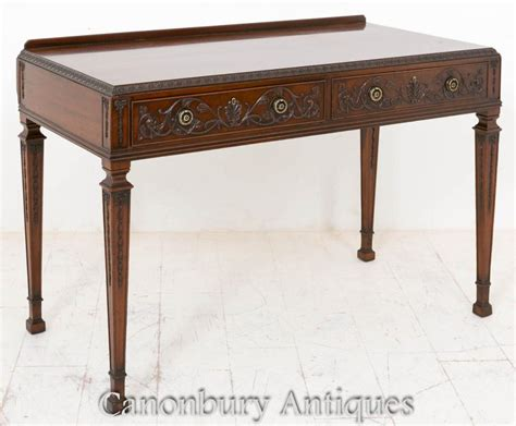 mahogany console table mahogany carved side table console tables
