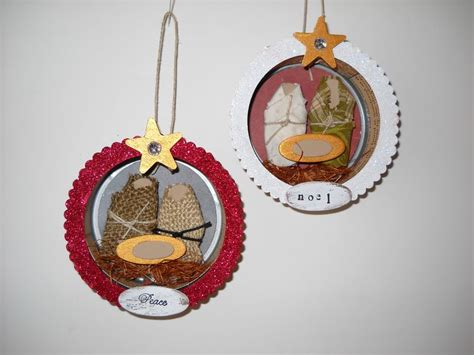ornament school project upcycled tuna can creations 365 days of crafts inspiration