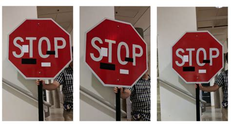 How To Make A Stop Sign Out Of Paper - 標識にシールを貼って自動運転カーを混乱に陥れるハッキング技術 robust physical