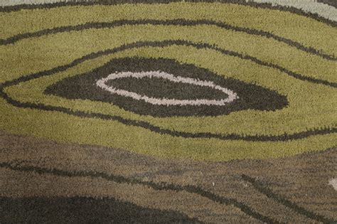 5x8 Area Rugs 100 by 100 Wool Modern Green Tufted 5x8 Gabbeh