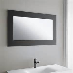 miroir salle de bain 150 cm miroir salle de bain 100x60 cm horizontal creta