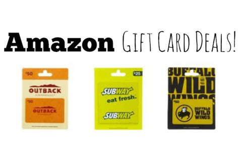 Discount On Amazon Gift Cards - amazon lightning deals save on gift cards southern savers