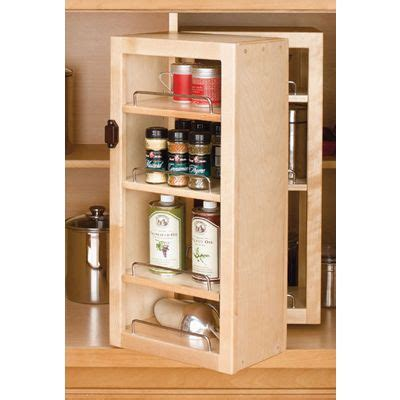 swing out shelf rev a shelf wood swing out pantry 25 quot high woodworker s