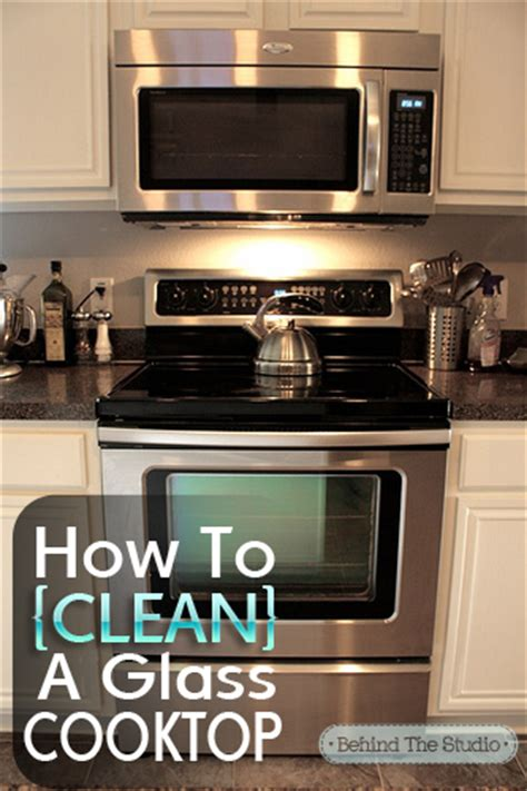 Cleaning Cooktop home made cleaning diy how to clean your glass cooktop with baking soda the studio