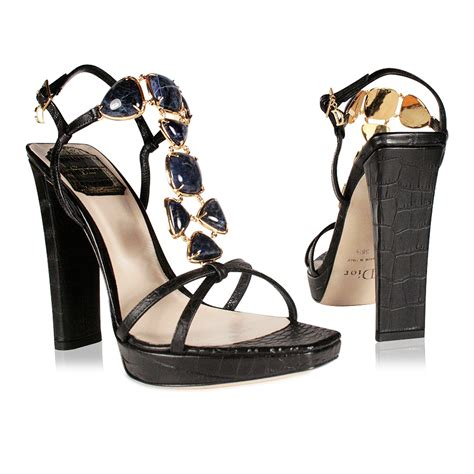 jeweled high heel sandals christian shoes jeweled high heel croc sandals navy