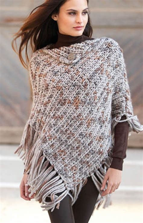poncho pattern knitting yarn free knitting pattern for punto poncho this easy fringed