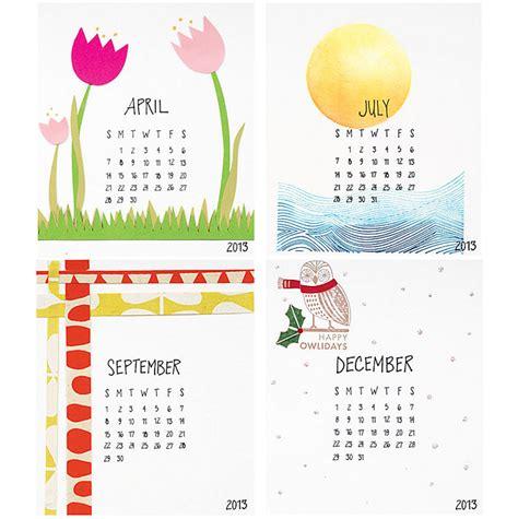 calendar design diy 20 awesome 2013 calendar designs