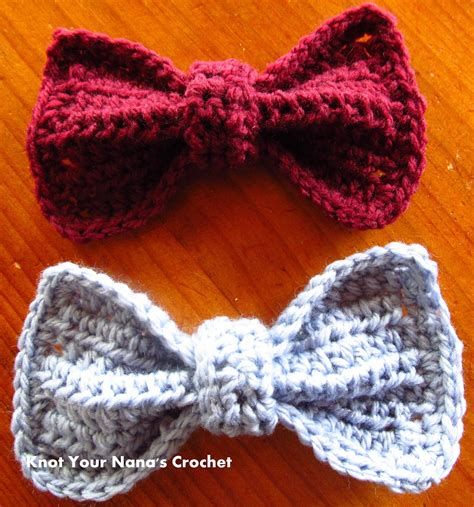 free crochet bow pattern crochet bows free pattern