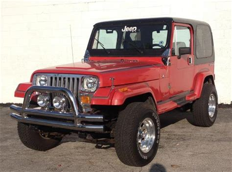 1989 Jeep Yj For Sale Used 1989 Jeep Wrangler For Sale Carsforsale