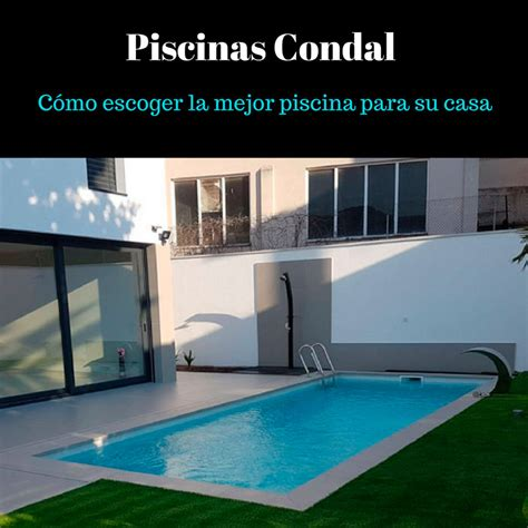 piscina en casa accesorios para una piscina privada piscinas condal