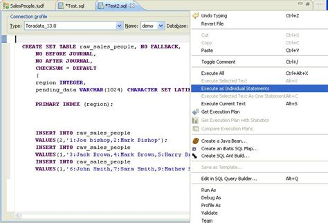 creating a table java user defined function using the