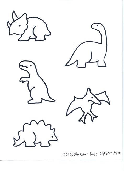 dinosaur templates dinosaur and volcano day preschool c eclectic