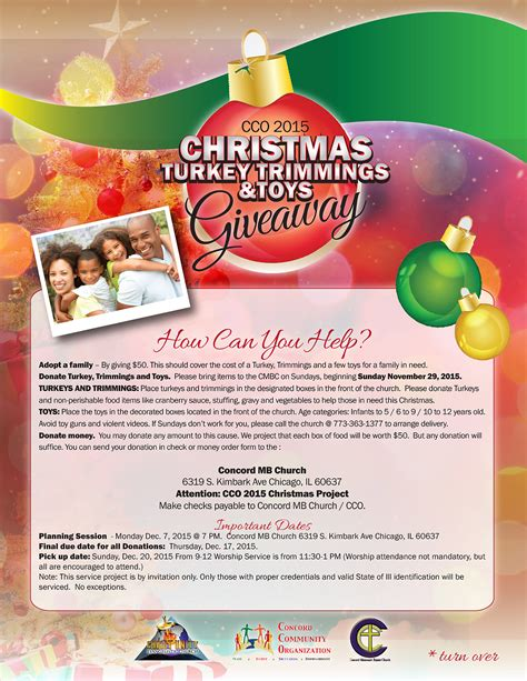 Christmas Toy Giveaway - 2015 cco christmas turkey trimmings and toys giveaway