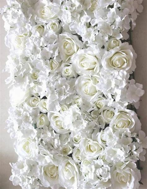 Wedding Background Wall by New 10pcs Lot Artificial Silk Flower Wall Wedding