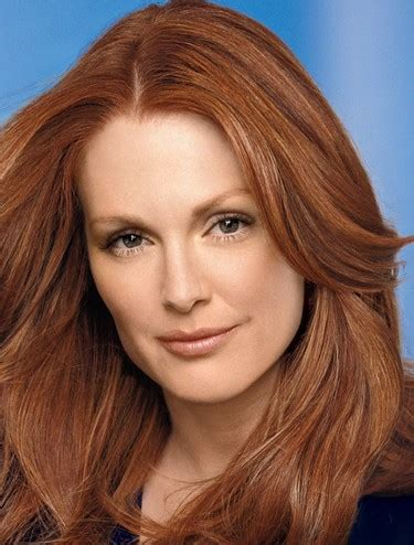 julianne moore hair care famous redheads picture gallery our favourite guys and