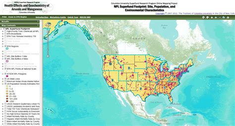 superfund map in your own backyard mapping communities near superfund sites