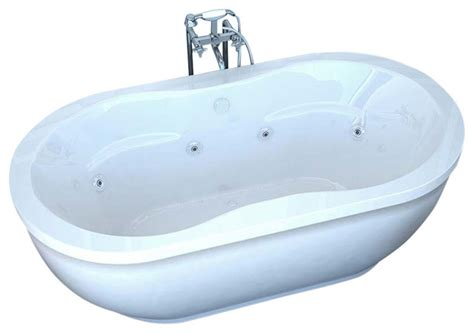 freestanding bathtubs with jets atlantis venzi velia freestanding soaker bathtub 34 quot x 71