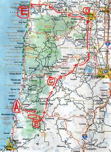 corvallis oregon map 2006 oregon motorcycle trip