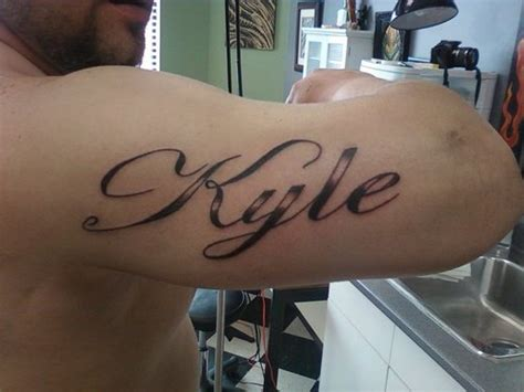 Tattoo Name Kyle | kyle tattoo picture at checkoutmyink com