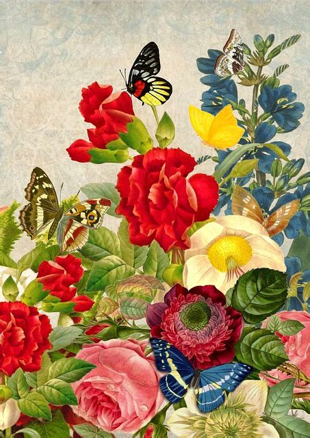 flowers wreath floral free image on pixabay free illustration vintage flower butterfly art free