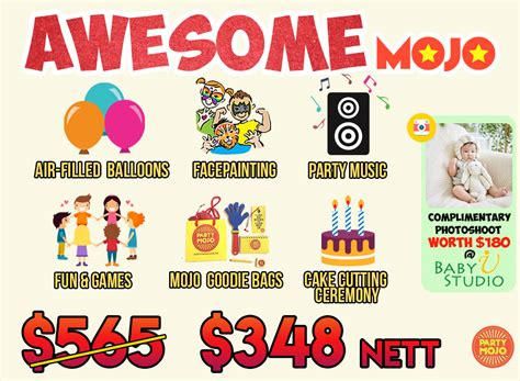 popular kids birthday party packages  singapore