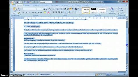 layout til essay ops 230 tning 2 spalter i word god til essay noveller youtube