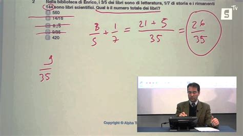 bocconi test d ingresso test ingresso bocconi esempio alpha test 2