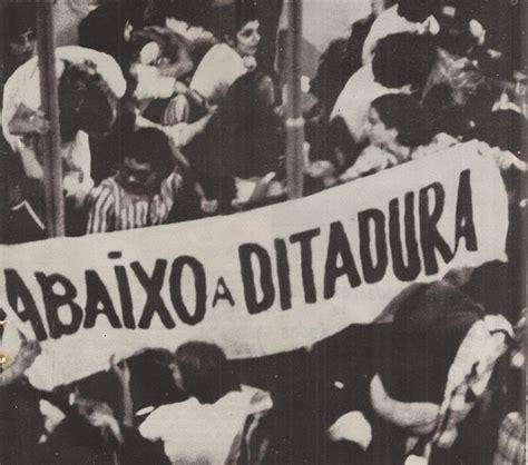A Ditadura 10 Raz 245 Es Para N 227 O Ter Saudade Da Ditadura Militar