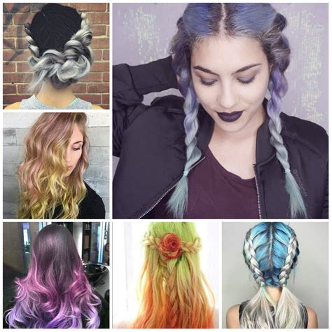 hairstyles ideas 2016 multi toned hair color ideas to try in 2016 2017