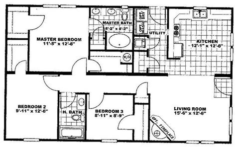 floor plans for 1100 sq ft home 1100 sq ft house plans nsc28443a 1158 sq ft home