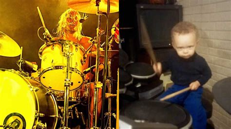 foo fighters better this 2 year drummer is better at foo fighters