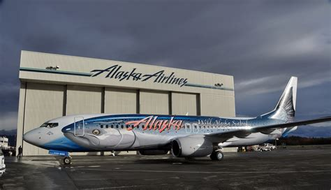 airline livery of the week alaska airlines salmon thirty salmon ii airlinereporter