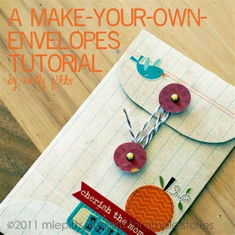 make own envelope envelopes envelope tutorial and tutorials on pinterest