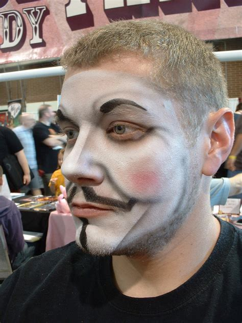 tutorial makeup vire man guy fawkes airbrushed makeup by marquisdezod on deviantart