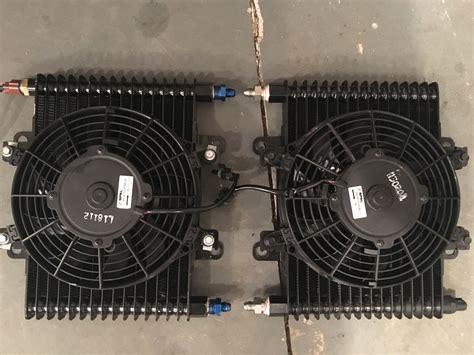 b m cooler with fan b m hi tek large trans cooler w fan ls1tech camaro