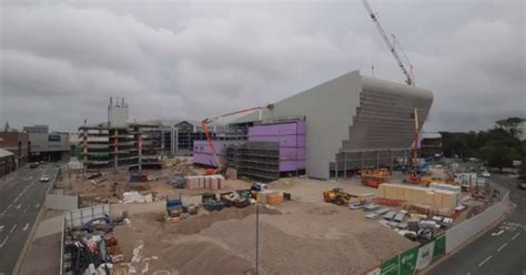 hull daily news online hull events hull daily mail see how new 163 36m hull venue is rapidly shaping up hull