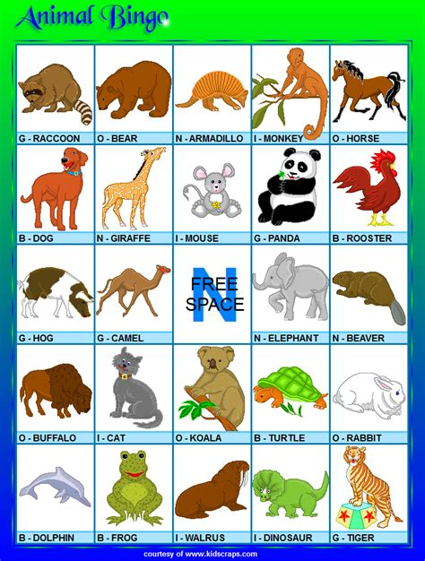 printable animal game pieces animal bingo related keywords animal bingo long tail